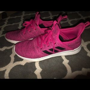 Adidas Cloudfoam pure shoes size 6 kids